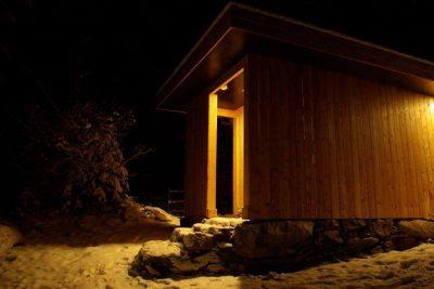 Sauna na Jeleních loukách v Krkonoších