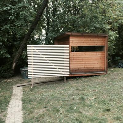 Sauna v Klubovně