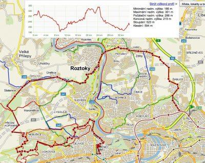 Cyklovýlet: Střížkov – Zdiby – Klecánky – Únětice – Divoká Šárka