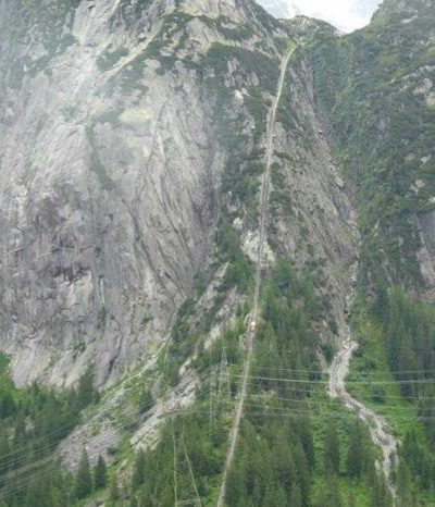 Gelmerbahn, nejprudší lanovka v Evropě