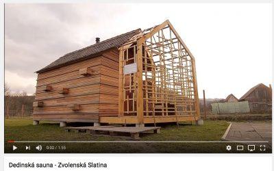Saunový domček Zvolenská Slatina